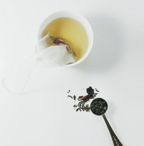 White Tea filter drink paradise warming