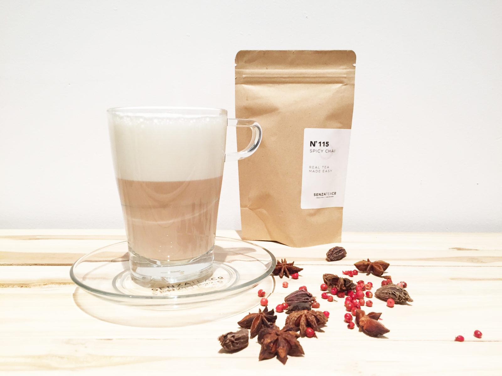 , Recept: Chai Tea Latte