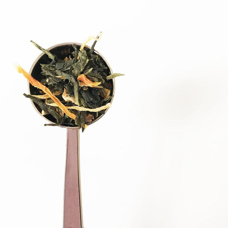 Spoon sencha green tea blog positive effects